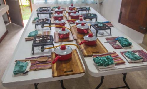 Wellness Cooking Class Setup