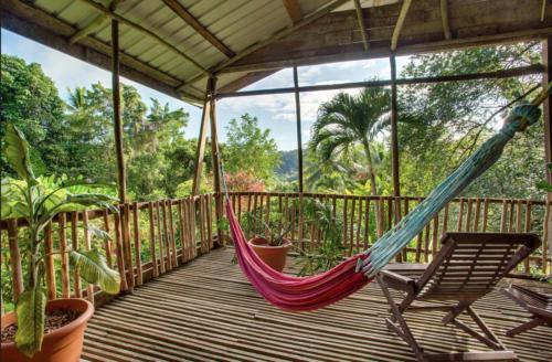 Relaxation is key to your wellness! Balcony the Parrot's Perch Suites