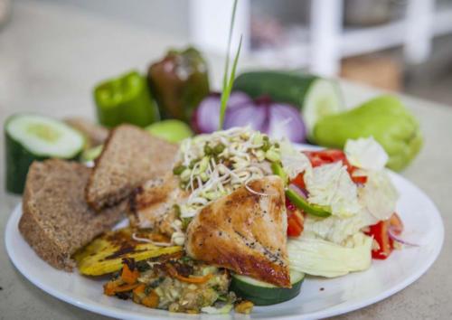 A Healthy balanced meal for wellness.