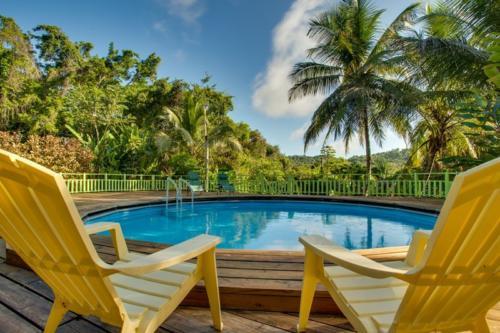 Pool at Maya Mountain Lodge