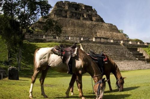 Horseback Ride to Mayan TemplesXUNANTUNICH